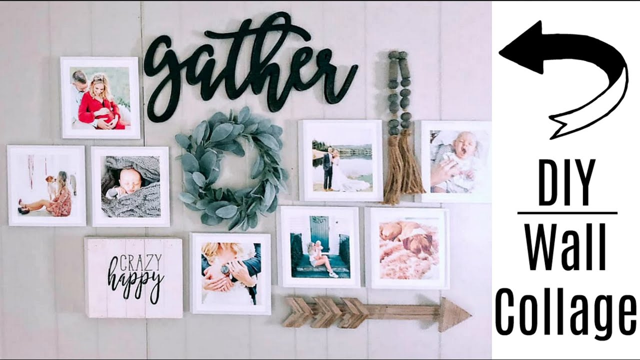 DIY Pinterest Wall Collage Featuring Mixtiles   Review ...
