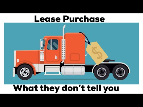 Lease Purchase Operator : The biggest cost they do not tell you about 2018 ( with the math )