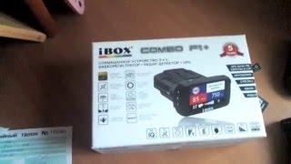 Видеорегистратор iBOX COMBO F1+