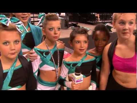 Cheer Channel tries to interview Kenley Pope of Cheer Extreme BRIEF interview