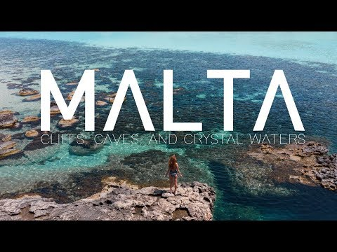 MALTA – CLIFFS, CAVES, AND CRYSTAL WATERS