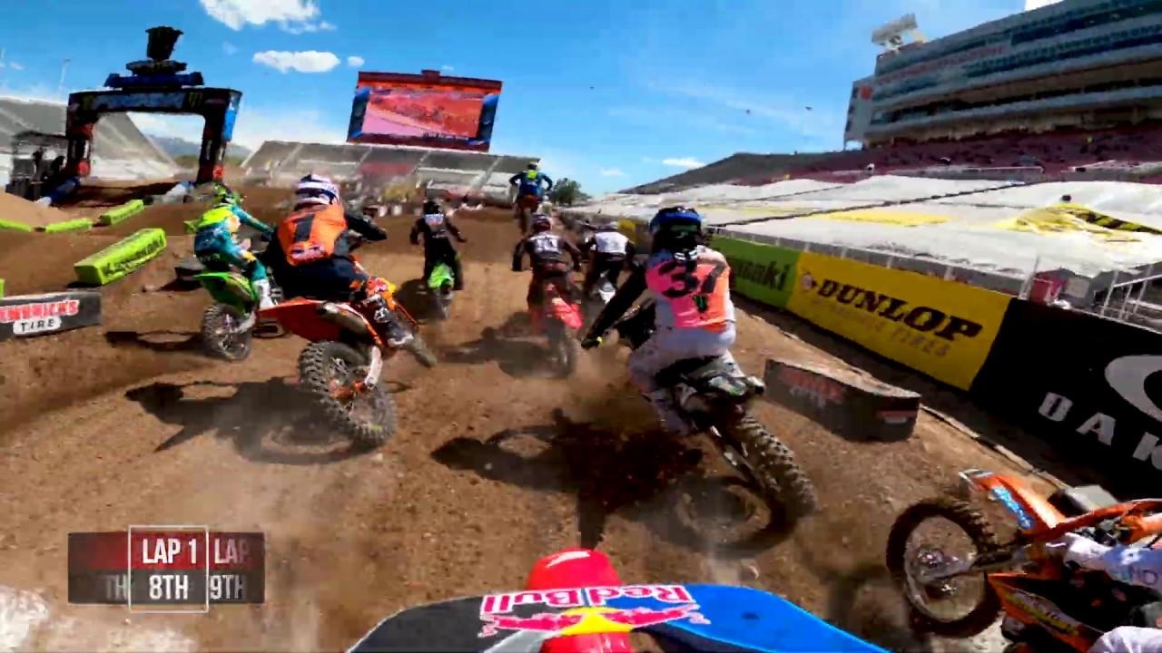 GoPro: Ken Roczen - 2020 Monster Energy Supercross - 450 Main Event Highlights - Salt Lake City - Motor Informed