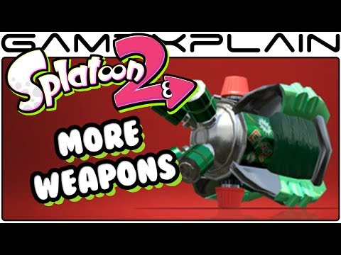 Splatoon 2 - 10 More NEW & Returning Weapons Revealed!