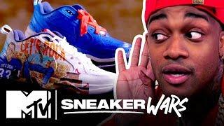 Custom Nike Air Monarch IV Challenge: '90s Dad Edition | MTV Sneaker Wars