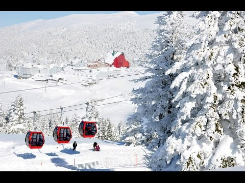 Bursa - Uludag Mountain ( New Cable Lift )