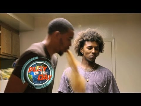 Cinnamon Challenge Success by NBA Player?  Javale McGee, Nick Young Eat Tablespoon of Spice