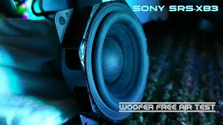 Sony srs-xb3 - Disassembly - Woofer test 🔊