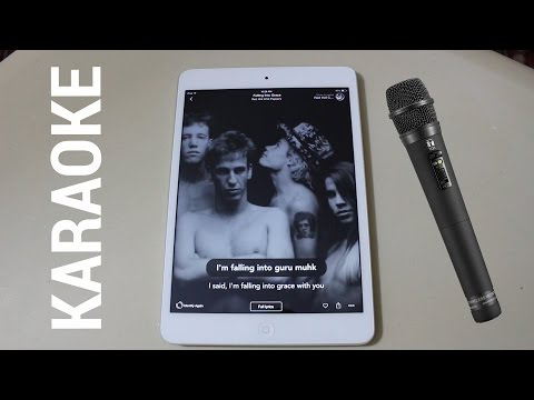 Turn Your iPhone, iPad or Android Device into a Karaoke Mach