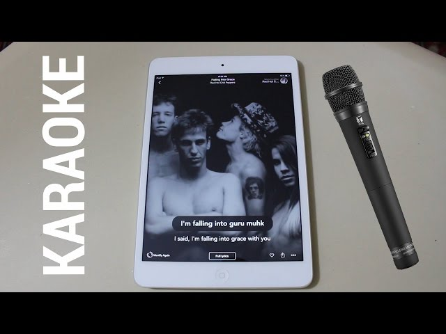 Turn Your iPhone, iPad or Android Device into a Karaoke