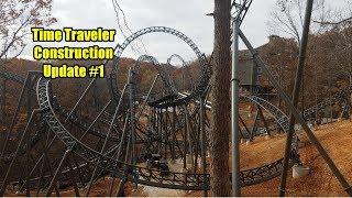 Time Traveler Construction  Update # 1