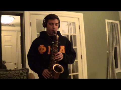 Eb Blues solo on Alto Sax