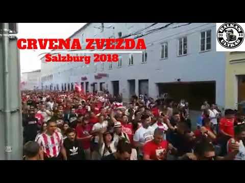 DELIJE U Salzburgu- RB Salzburg Vs Crvena Zvezda [29.08.2018.]