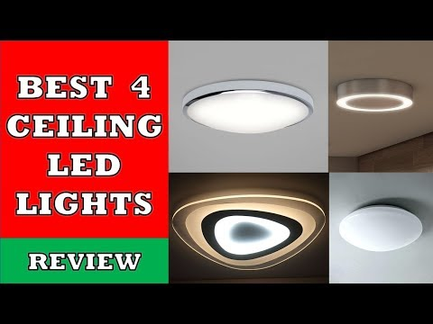 Best 4 Ceiling LED Light Panels In 2020 - Review