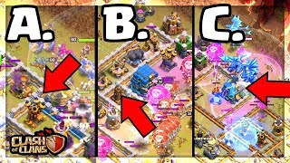 WHICH Attack WON the Clan War? Clash of Clans Three Star Action!