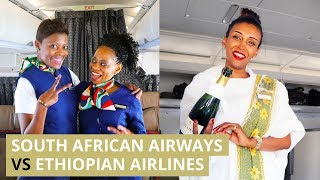 South African Airways vs Ethiopian Airlines - Which one is B...