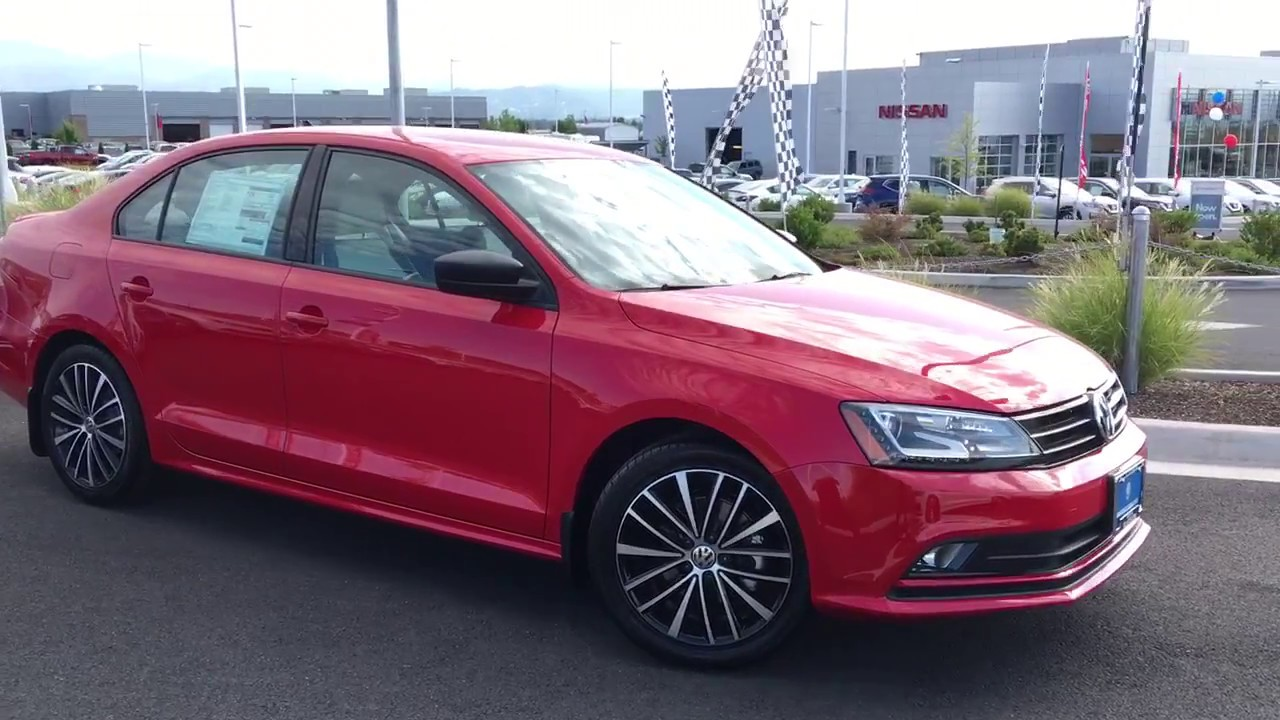 2017 volkswagen jetta sport tornado red youtube. Black Bedroom Furniture Sets. Home Design Ideas