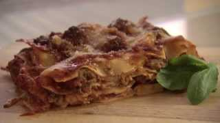 Traditional Italian Lasagna Recipe With Veal & Pork Mince Meatballs