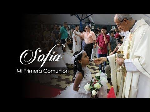 Sofia Mi Primera Comunion Trailer M