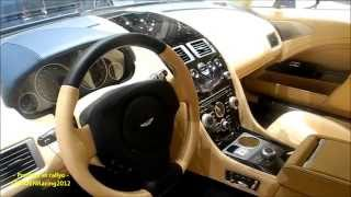 ASTON MARTIN RAPIDE S limousine very hyde luxury car inside/ outside walk around  [HD]