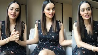 Miss World Manushi Chhillar Full Live | Talks About Joining Bollywood