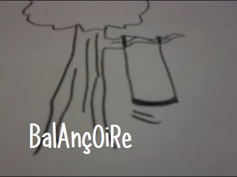 Dessin Balançoire dessiner une balancoire - youtube