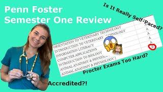 Penn Foster Vet Tech Program Semester 1 Review