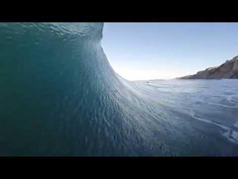 Gopro. SURFING BLACKS BEACH winter 2015