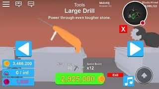 Finally getting the Triton in mining simulator