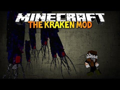 Minecraft: The Kraken Mod! - RELEASE THE KRAKEN! (OreSpawn Mod Spotlight)