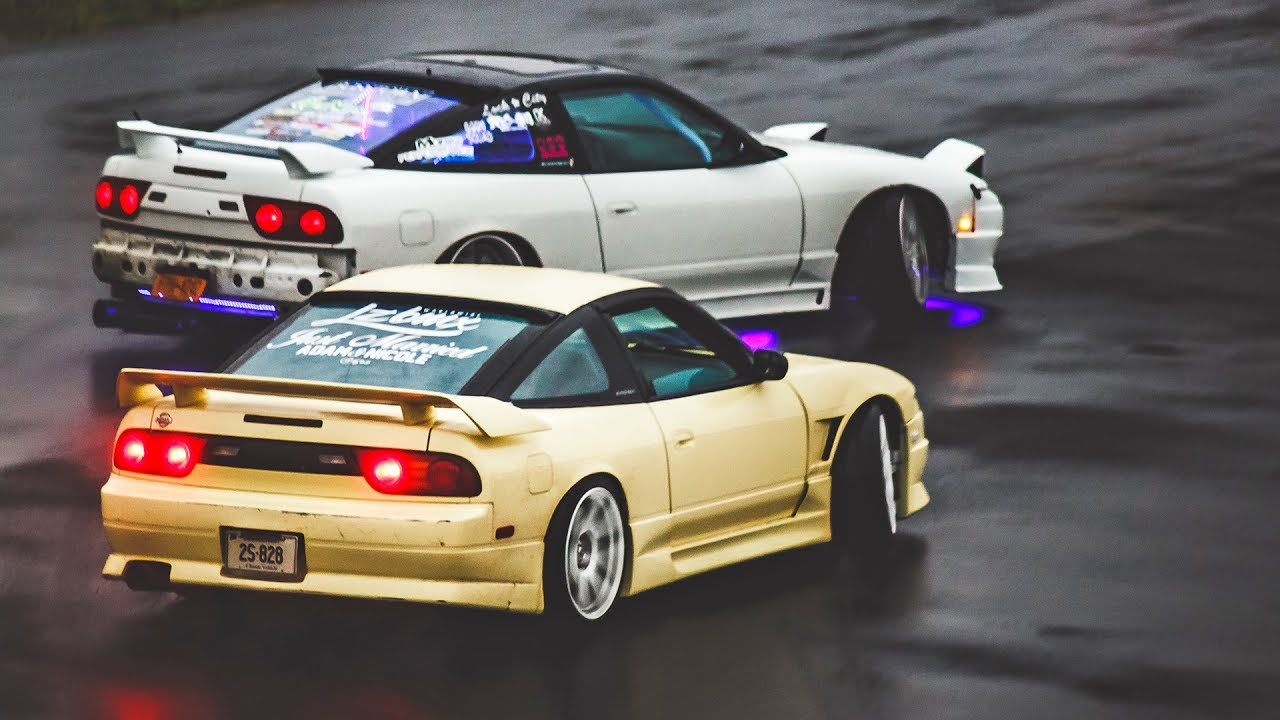 My First Tandem Drift Competition Youtube