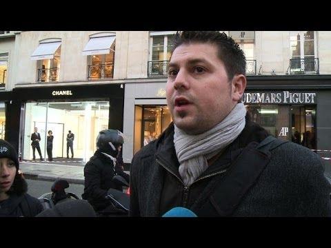 Paris: braquage d'une bijouterie de luxe rue Saint-Honoré