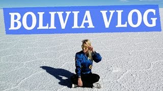 BOLIVIA VLOG - TOP TIPS FOR SALT FLATS & ALTITUDE