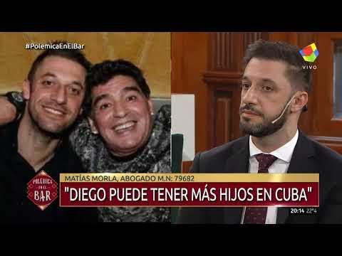 Matías Morla: Diego puede tener más hijos en Cuba