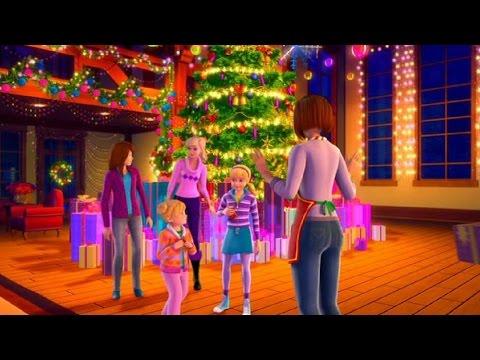 Барби мультфильм чудесное рождество