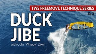 Episode 3: Duck jibe, how to, tips technique tutorial windsurfing