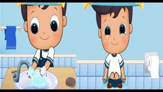Nico Explore Your Bathroom | Kids Learn Potty Training | Android Gamplay Apps For Kids