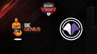 CS:GO - beGenius vs Millenium - Mirage - ESL Championnat National - Winter 2016