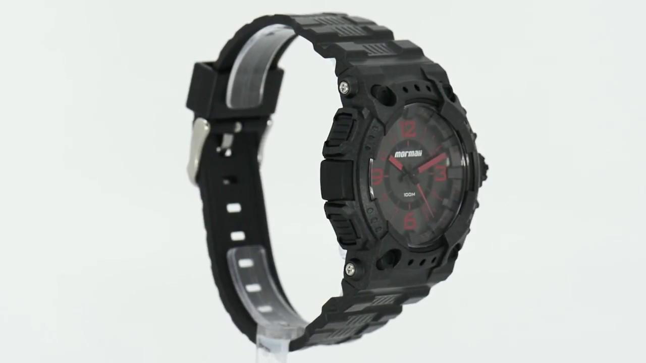 0acff0160 Kit Relógio Mormaii Masculino com Óculos Casual MO2035AI/O16 - Eclock