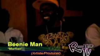 Beenie Man &  Cee Gee Mars Mi Gone  In Studio (NOV 2010)