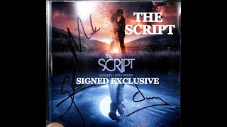 THE SCRIPT: SUNSETS AND FULL MOONS ALBUM | SIGNED CD- UNBOXING