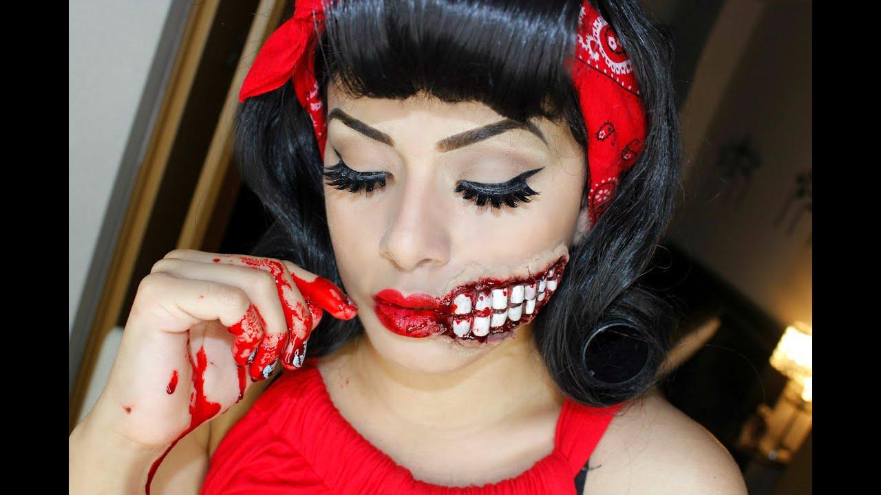 pin up halloween - youtube