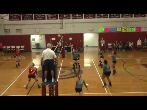NCCS - Saranac Volleyball  9-26-16