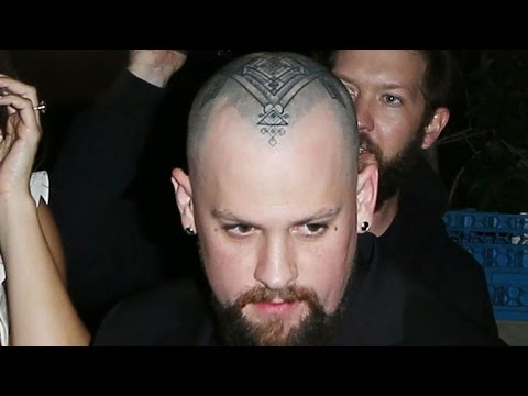 Benji Madden Shows Off Giant Head Tattoo on Date Night With Cameron Diaz