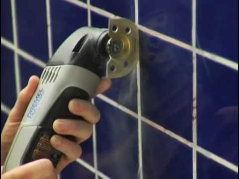 Dremel: Removing Grout - YouTube