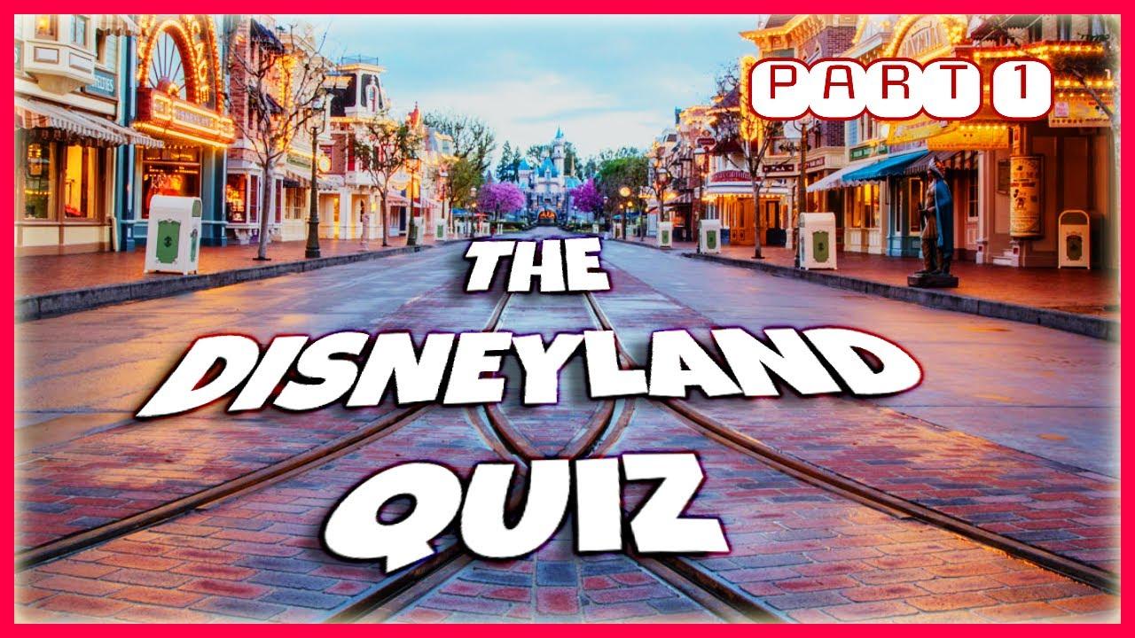 The Disneyland Quiz | Part 1 | A Little Bit of Everything