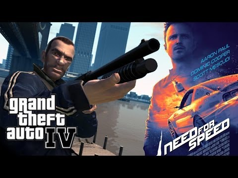 Need For Speed Movie in GTA IV! (Trailer Remake)