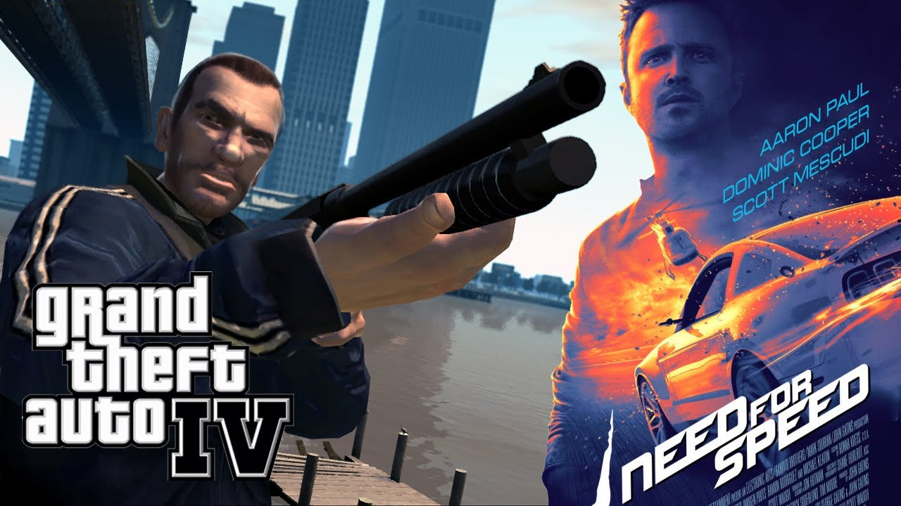 need for speed movie in gta iv trailer remake youtube. Black Bedroom Furniture Sets. Home Design Ideas