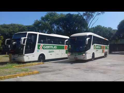 Gontijo 21610 e 20125 indo pro embarque no tiete