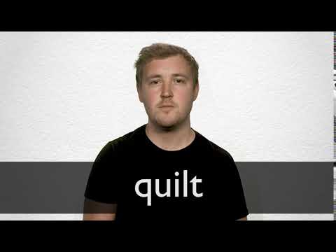 Quilt definition and meaning   Collins English Dictionary