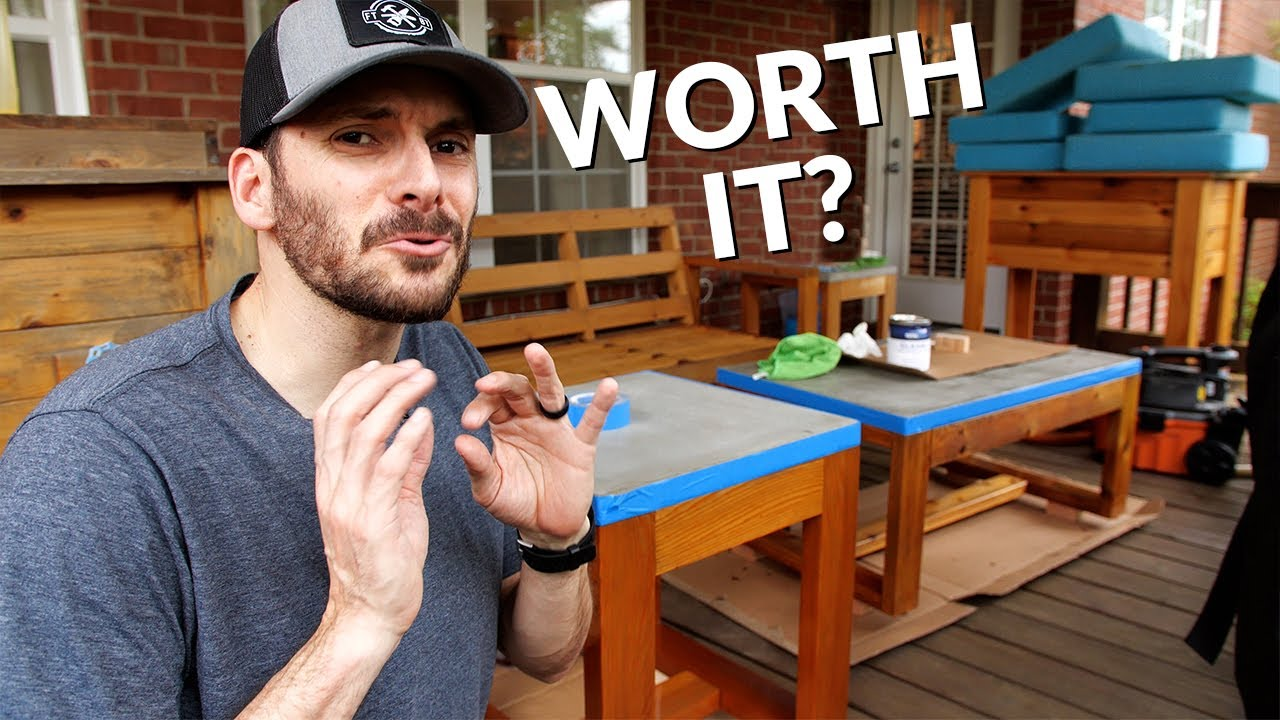 Refinish Outdoor Furniture the EASY (or hard) Way | Wood Restoration